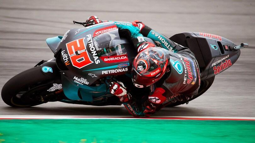 Quartararo show a Barcellona, Valentino Rossi settimo