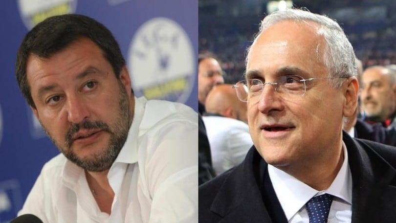"""Salvini: """"Lotito in Alitalia? Si occupa di Lazio con esiti alterni…"""""""