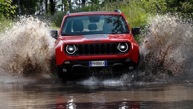 Jeep Renegade, al Parco Valentino debutta la ibrida plug-in