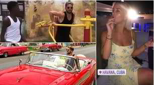 Mertens, che vacanza a Cuba: sigari e macchine di lusso