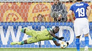 Le speranze dell'Italia U20 s'infrangono sul rigore fallito da Olivieri