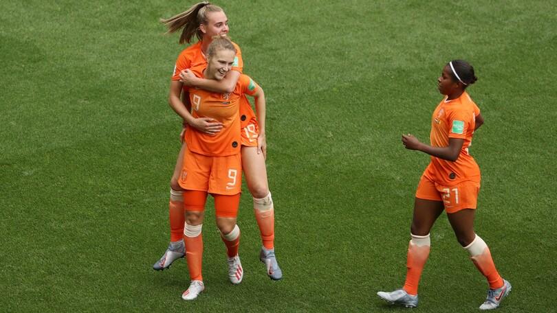 Mondiali femminili: Olanda e Canada agli ottavi di finale