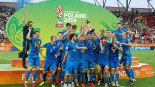 L'Ucraina U20 sul tetto del mondo: le immagini della festa
