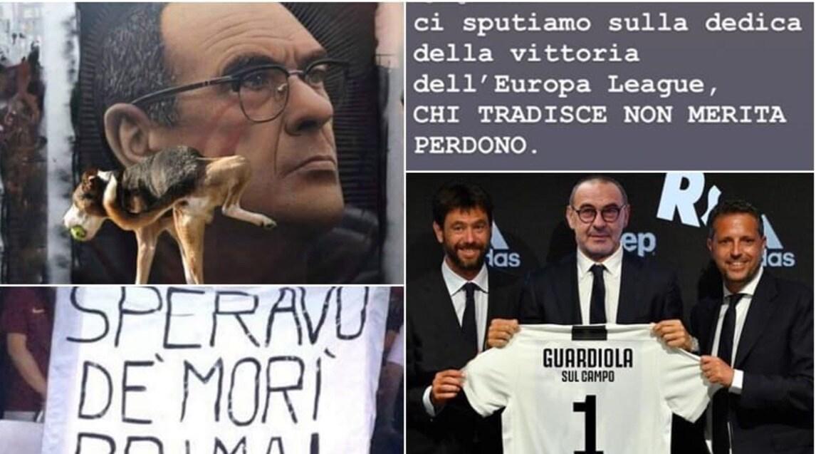 <p>Ironie, sfottò ed amarezza, l'arrivo del nuovo tecnico bianconero fa impazzire il web: per i napoletani è un vero e proprio colpo al cuore</p>