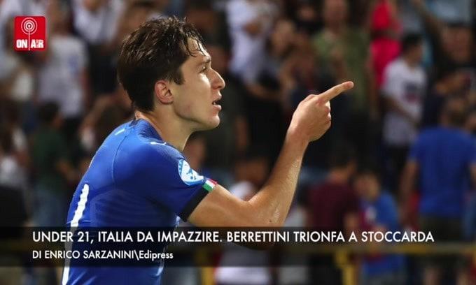 Under 21, Italia esordio col botto. Berrettini trionfa a Stoccarda