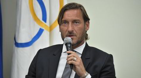 """Diretta conferenza Totti: """"Lascio la Roma"""""""