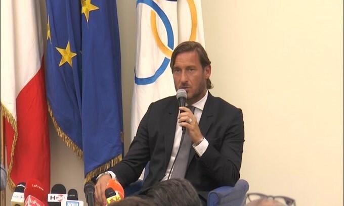 """Totti: """"Con Baldini non c'è mai stato rapporto"""""""