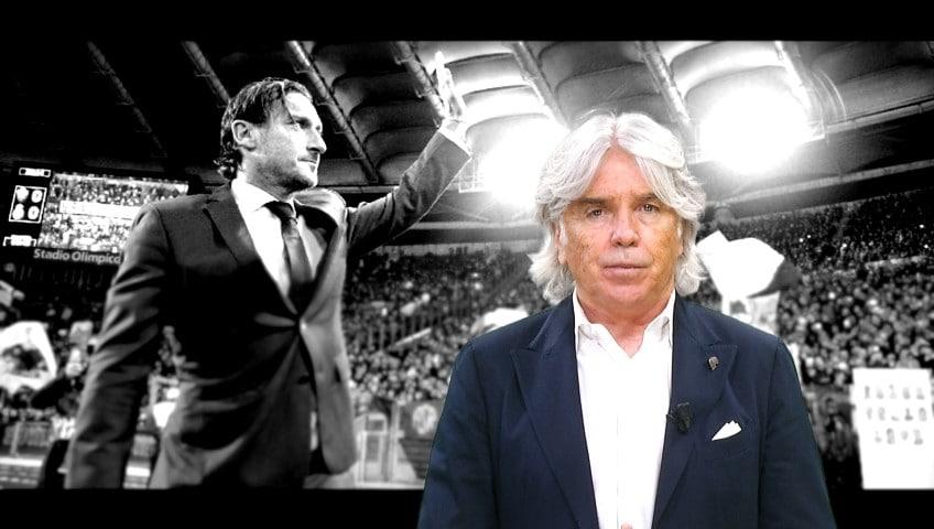 L'addio di Totti