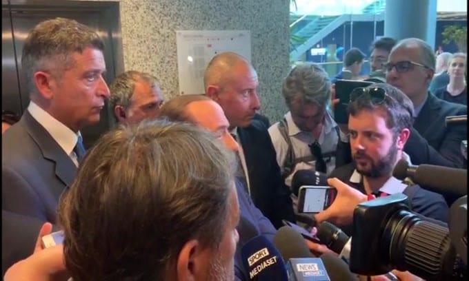 """Berlusconi: """"Volevo Conte al Milan"""""""