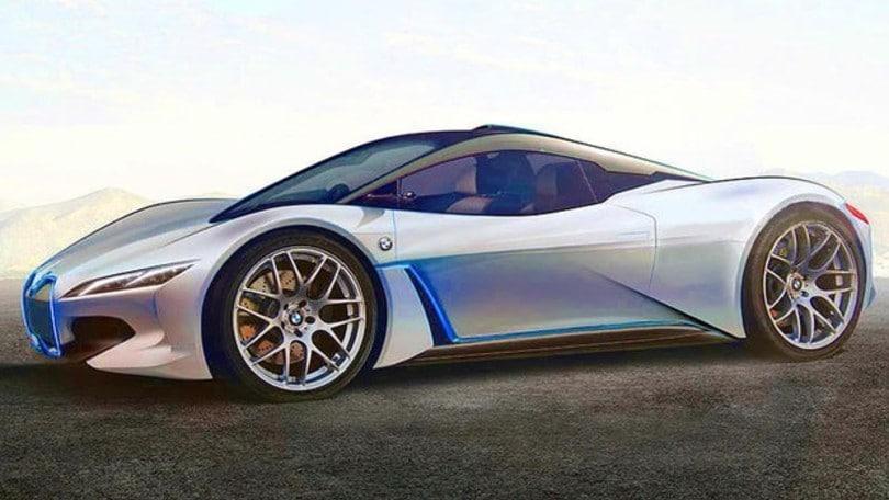 BMW Vision M Next, in arrivo l'erede della i8