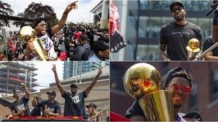 Raptors, che festa a Toronto per il titolo NBA!