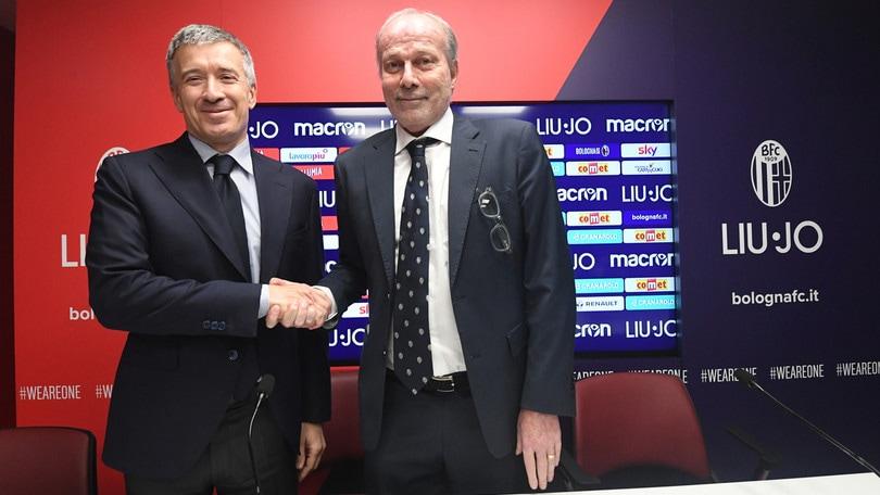 """Bologna, ecco Sabatini: """"La mia sfida finale. Voglio grandi risultati, qui e subito"""""""