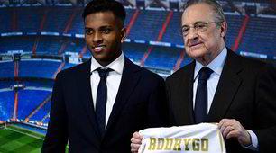 Real Madrid, la presentazione ufficiale di Rodrygo