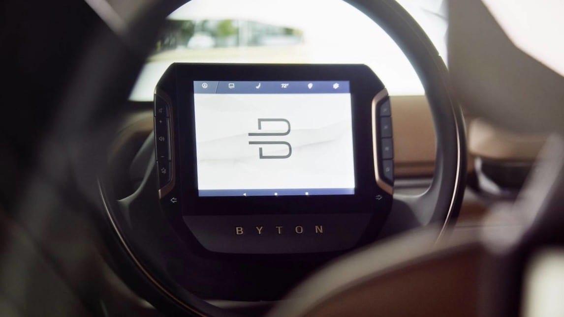 Byton Concept, al CES 2018 arriva il SUV: foto