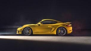 Porsche, la nuova 718 Cayman GT4 - Le Foto