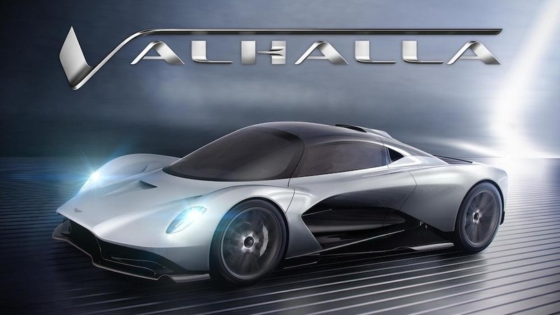 Aston Martin Valhalla, il concept AM-RB 003 ha un nuovo nome