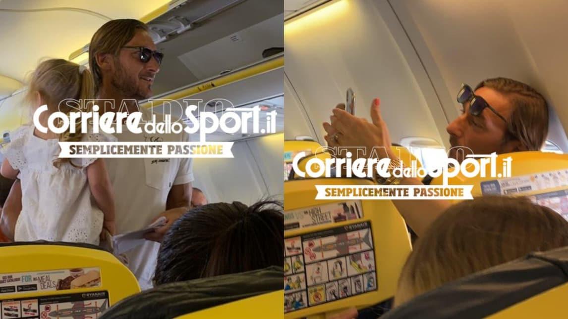 <p>L'ex capitano e dirigente della Roma è partito in aereo con la famiglia il giorno dopo la conferenza stampa di addio alla società giallorossa</p>
