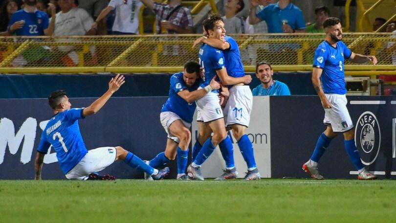 Europei Under 21: Italia-Polonia, azzurri avanti a 1,35