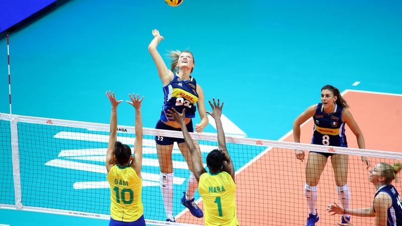 Il Brasile strapazza l'Italia di Mazzanti