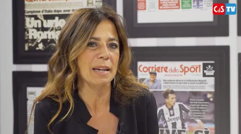 Rosella Sensi esclusiva: Ho abbracciato Totti e stavo per piangere
