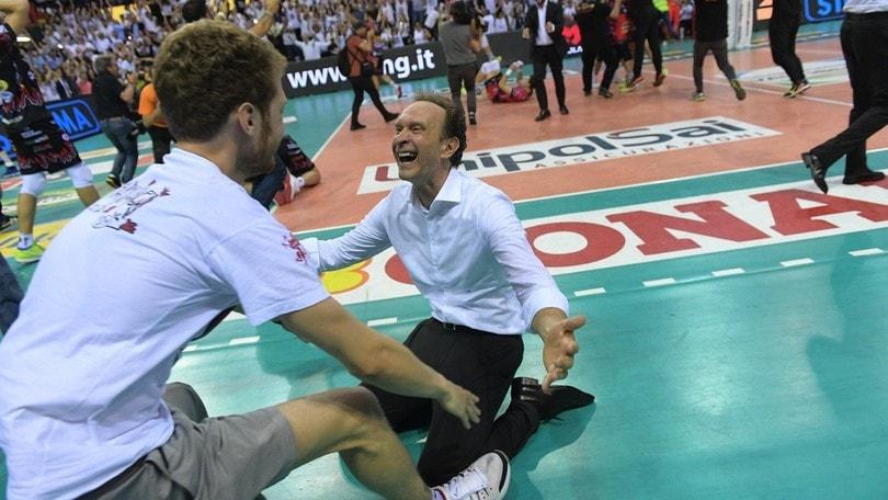 Bernardi annuncia: « Non sono più il tecnico di Perugia »