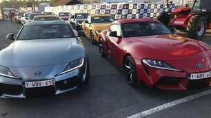 FOTO: Test, Toyota Supra a Le Mans