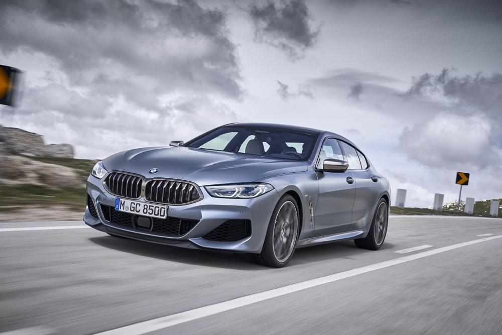 BMW Serie 8 Gran Coupe: gli scatti