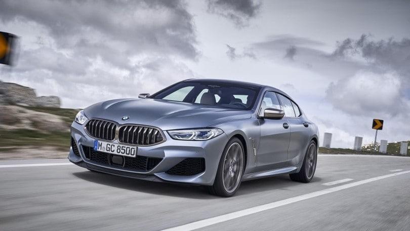 BMW Serie 8 Gran Coupé, quattro porte e altre novità