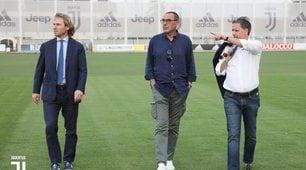 Juve, ecco Sarri: è arrivato a Torino