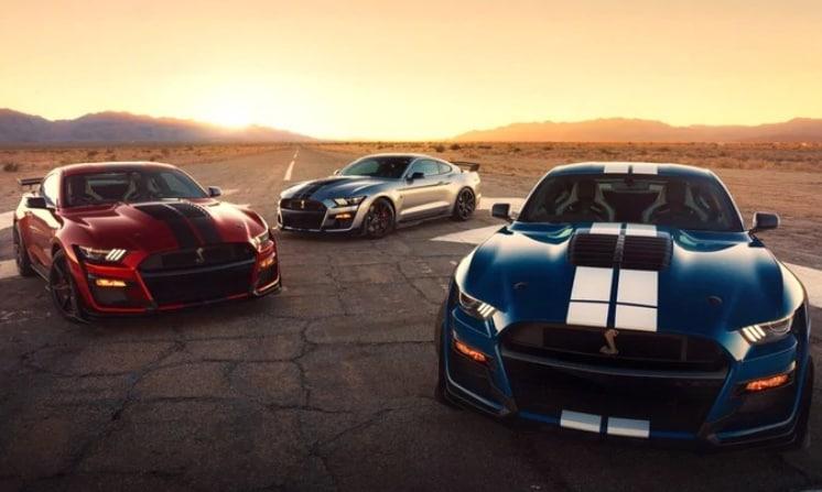 Ford Mustang Shelby GT500, a Detroit la presentazione
