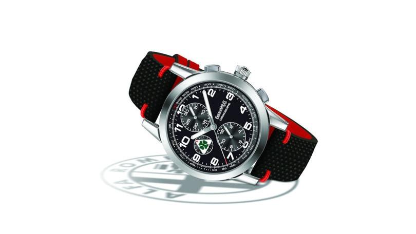 Eberhard presenta il Quadrifoglio Verde, il cronografo dedicato ad Alfa Romeo