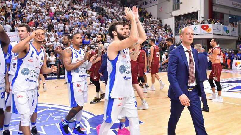 Basket, finale Scudetto: Sassari vince gara-6 contro Venezia 87-77