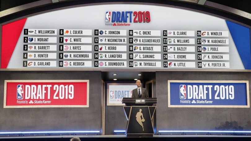 Draft Nba 2019, Williamson prima scelta dei New Orleans Pelicans