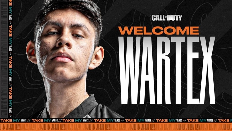 Wartex: il talento italiano approda nella Pro League di Call of Duty