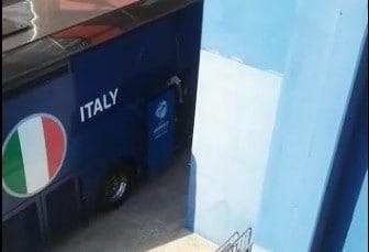 L'Italia U21 arriva al Mapei Stadium per l'allenamento