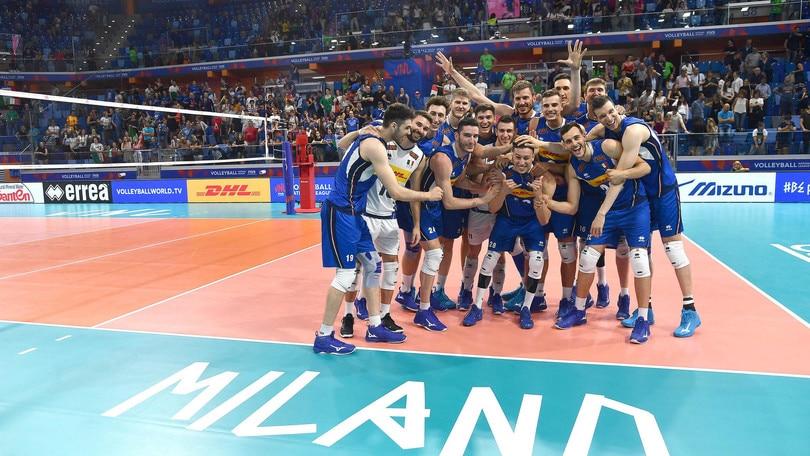 L'Italia inaugura la Allianz Cloud battendo la Serbia