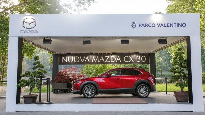 Mazda CX-30, anteprima nazionale al Parco Valentino