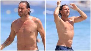 Totti in vacanza ad Ibiza dopo l'addio alla Roma