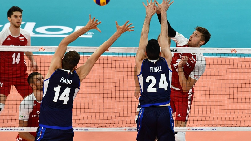 Italia che peccato ! la Polonia vince al tie break