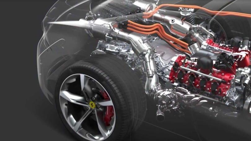 Ferrari SF90 Stradale, il powertrain in azione - VIDEO
