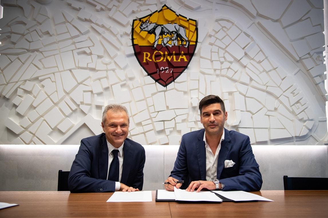 Roma, al via l'era Fonseca: firma e visita a Trigoria