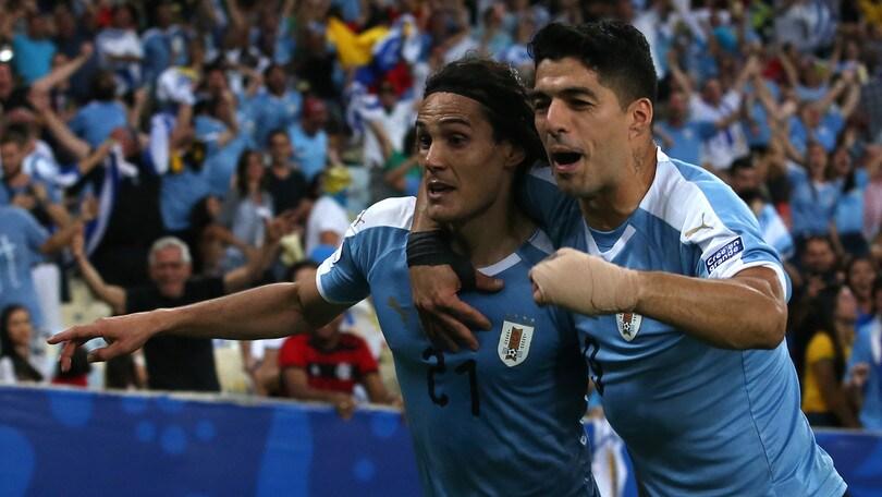 Coppa America: Cile e Uruguay ai quarti, fuori Ecuador e Giappone