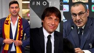Serie A, già 7 cambi in panchina: i 20 allenatori del prossimo campionato