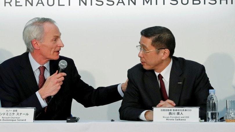 """Renault-FCA, Nissan ora alza la voce: """"In discussione l'alleanza"""""""