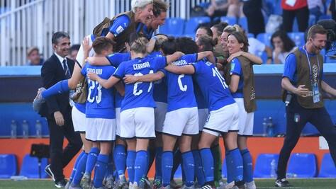 Italia show, è ai quarti dei Mondiali femminili! 2-0 alla Cina
