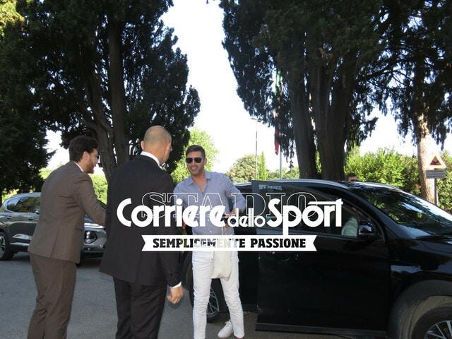 Roma, Fonseca e lo staff a Villa Stuart