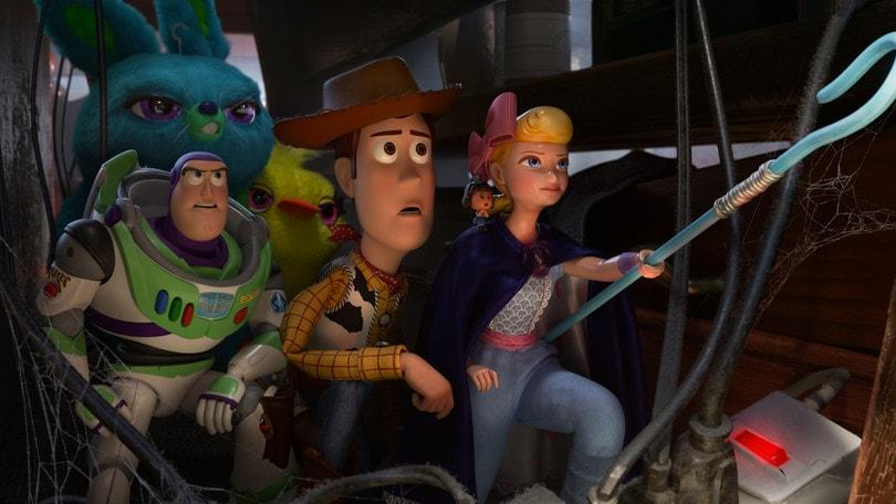 Vecchi e nuovi giocattoli in Toy Story 4