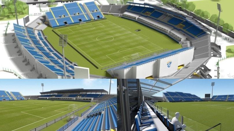 Brescia, ecco come sarà il nuovo stadio Rigamonti