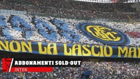 Inter, abbonamenti già sold-out