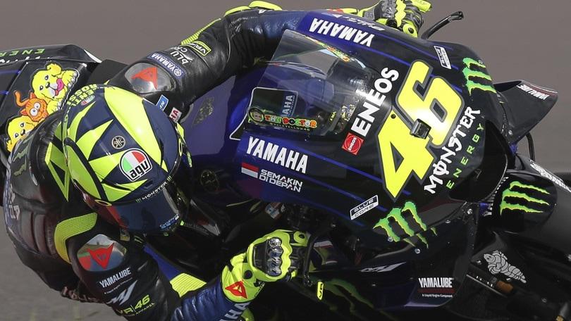 MotoGp, Assen: il guizzo di Rossi vale 6,50